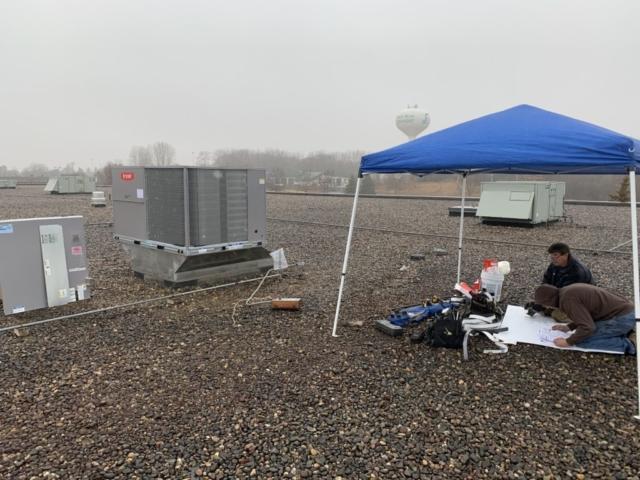 Hemostasis LLC Rooftop Installation
