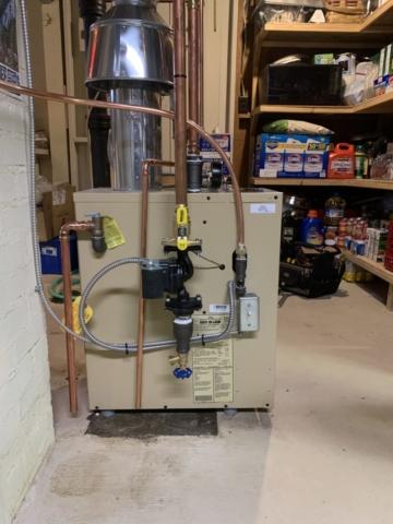 Boiler Installation on 03/20/20