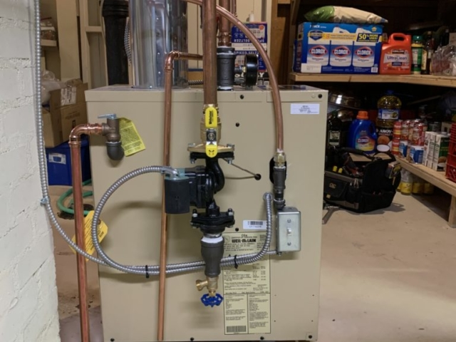 Boiler Installation on 03/20/20