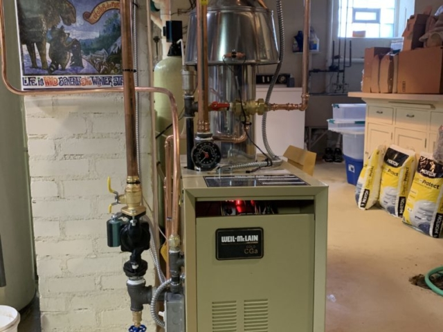 Boiler Installation on 30/20/20